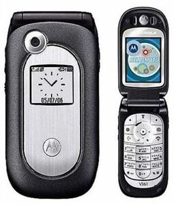MOTOROLA FLIP PHONE AND CHARGER