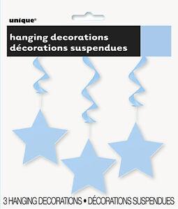 Hanging STAR DECORATIONS {Unique} (Birthday/Party/Decoration/Swirl)