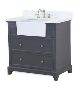 "Sophie 36"" Single Bathroom Vanity Set"