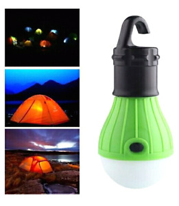 100 000 hours LED light bulb. Long life span. Tent camping