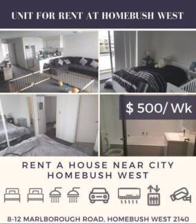 2 Bedroom Unit At Homdbushwest For Rent