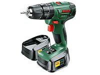 Bosch PSB 1800 LI-2 Cordless Lithium-Ion Hammer Drill Driver with Two 18 V Batteries