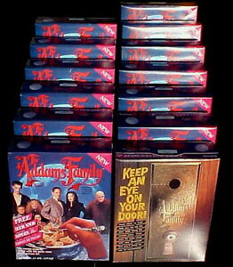 Addams-Family-Cereal-13-Boxes-12-Unopened-1-Empty-From-1991-Movie-Era