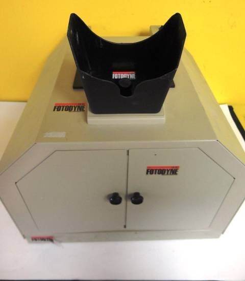 Fotodyne Transilluminator Photo Box Cabinet 3-4497 13-4640 Used Condition