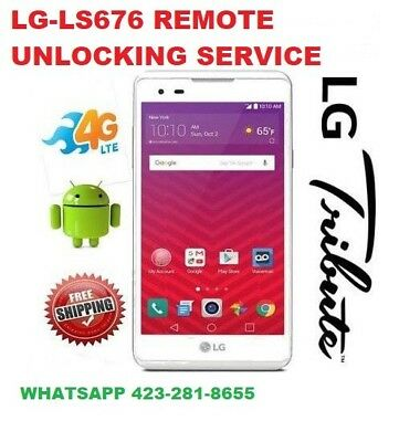 Remote SIM Unlock Service LG TRIBUTE HD LS676 Sprint Boost Virgin Mobile