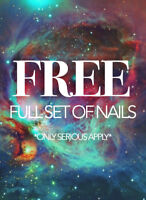 FREE ACRYLIC NAILS!!!! ACCEPTING APPTS FOR SUNDAY JAN 21, 2018