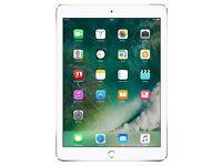 iPad Air 2 Wi-Fi 128 GB Gold *BNIB + Leather Smart Case*