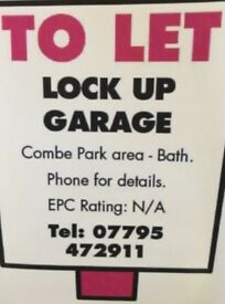 Secure Lock Up Garage To Let