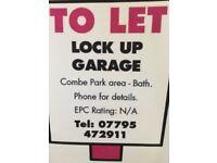Secure Lock Up Garage To Let