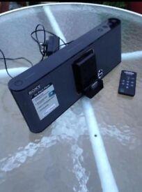 Sony iPod docking centre
