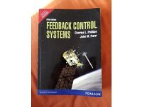Feedback Control Systems; Charles L. Phillips & John M Parr, Fifth Edition, Pearson