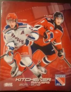 2011 - 2012 OHL Kitchener Rangers Signature Team Set Album