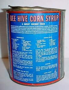 Antique Corn Syrup Tin Great Litho London Ontario image 2