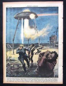 1954-UFO-DISCO-VOLANTE-MARZIANI-QUINCY-VOISIN-alpinismo-guida-Maestri-TRIESTE