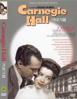 Carnegie Hall (1947) DVD - Edgar G. Ulmer (New & Sealed)