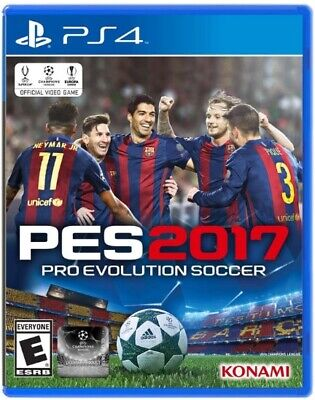 PES 2017 Pro Evolution Soccer - PlayStation 4 PS4