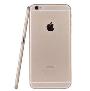 White & Gold 6s Iphone - 64GB