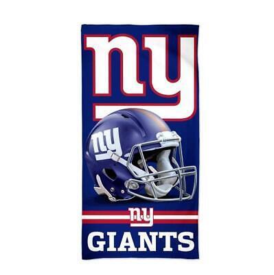 New York Giants NFL Football Strandtuch,Badetuch Beach Towel,Helm Logo