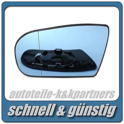 spiegelglas für MERCEDES E-Klasse W211 Avantgarde 02-06 links asph beheizbar