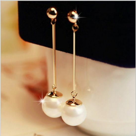 Circle Bead Jewelry 12K Yellow Dangling Gold Filled 15,19,26mm Hoop Earrings Unisex Women /& Men