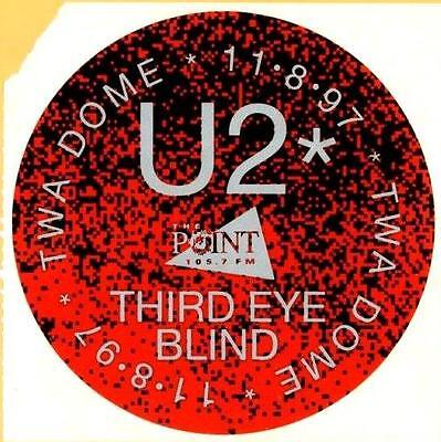 The Point Radio 105 7 Fm     U2   Third Eye Blind   Twa Dome   Sticker   1997