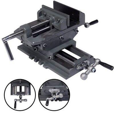 New 5 Cross Drill Press Vise X-y Clamp Machine Slide Metal Milling 2 Way Hd