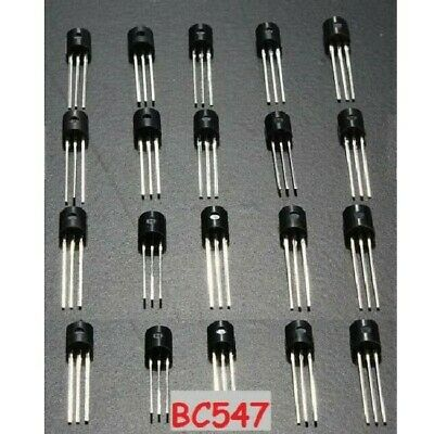 20 X Bc547b Bc547 Npn Transistor To-92 - Us Seller Fast Shipping With Tracking