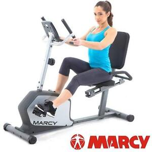 USED* MARCY RECUMBENT EXERCISE BIKE MAGNETIC RESISTANCE - EXERCISE BIKES CYCLE EQUIPMENT MACHINE GYM CARDIO WORKOUT