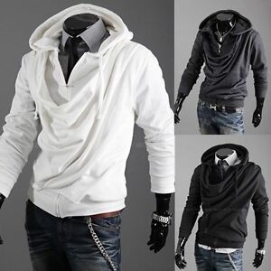 Hot-3-color-Mens-Slim-Top-Designed-Sexy-Hoody-Jacket-Coat-Outwear-Tops-4-size