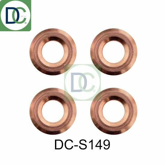 4 x Diesel Injector Washers Seals - Lexus IS 2.2 Denso 2AD-FHV
