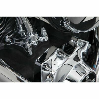 Kit Tapas Tornillos Motor Para Harley-Davidson® Chrome Spike Engine Bolt Cap Set