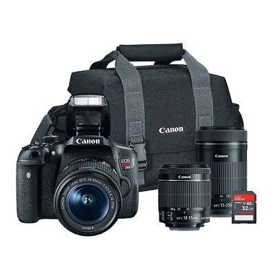 Canon EOS Rebel T6i 24.2MP Digital SLR Bundle 821837
