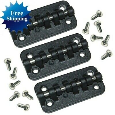 3 IGLOO COOLER REPLEACEMENT HYBRID STAINLESS/PLASTIC HINGES PARTS KIT HINGE