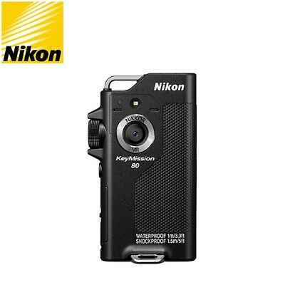 Nikon KeyMission 80 Action Camera ActionCam Genuine Black _