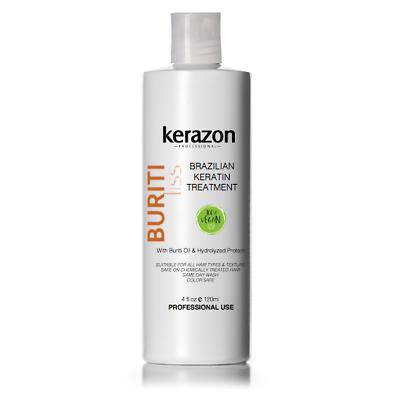 Brazilian Hair Keratin Treatment Complex Blowout 120ml/4oz S