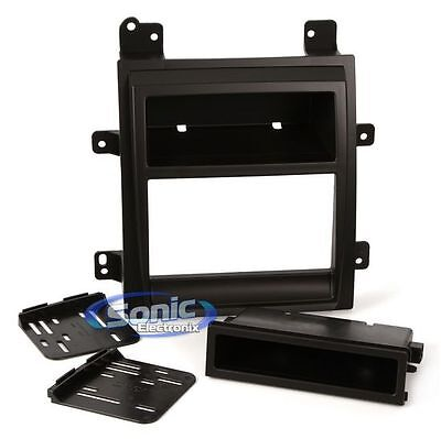 Scosche GM1521B Single/Double DIN Install Dash Kit for 2007-Up Cadillac Escalade