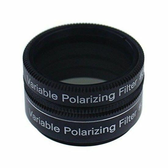 Gosky 1.25 Inch Variable Polarizing Filter No 3 for Telescopes & Eyepiece