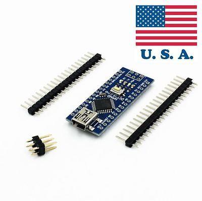 MINI USB Nano V3.0 ATmega328P CH340G 5V 16M Micro-controller board Arduino T1