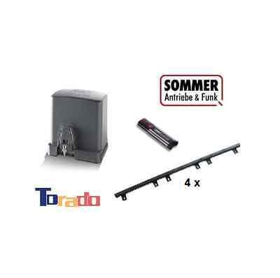 Sommer Schiebetorantrieb STArter Komplettset! 300 kg Torantrieb - Antrieb Hoftor