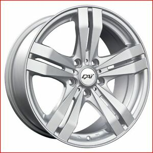 Roues (Mags) 4 saisons Target Argent 17''  5-110  Jeep Cherokee