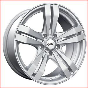 Roues (Mags) 4 saisons Target  argent 15''  Toyota Corolla