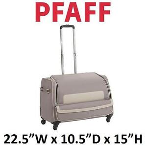 "NEW PFAFF SMALL ROLLER  BAG 22.5"" (57 cm) wide X 10.5"" (26.5 cm) deep X 15"" (26.5 cm) tall. 104658222"