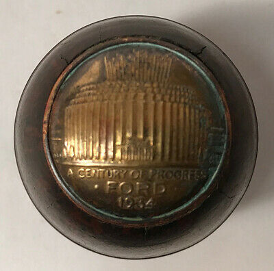 Ford Bakelite Gear Shift Knob, 1934 Chicago World's Fair