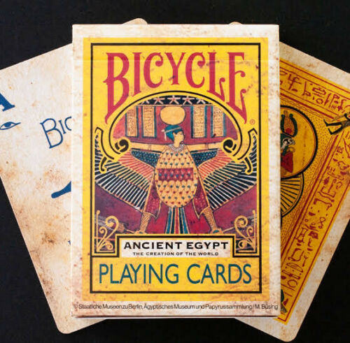 Bicycle Ancient Egypt Playing Cards  Japan  Limited Edition  Rare Deck  F/S