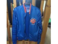 Fenchurch NYC New York basketball bomber jacket size small