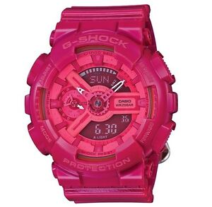 Casio-G-Shock-GMAS110CC-4-S-Series-Gloss-Pink-Watch-Women-COD-PayPal