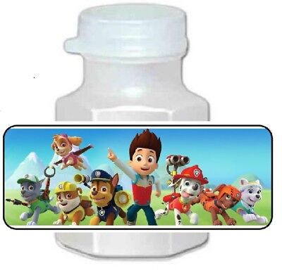 30 Paw Patrol Birthday Party Favor Bubble Labels ](Patrol Party)