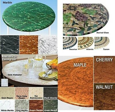 Elasticized Tablecloths Table Cover Marble Wood Stained Glass Fitted Cover NEW](Vinyl Table Covers)