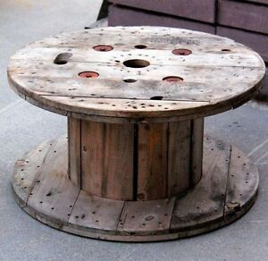 WANTED: Wooden Wire Spools for my goats