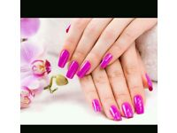 Nail extensions (acrylic and gel nail extensions)